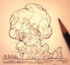 爆発等エフェクト落書きまとめ22枚