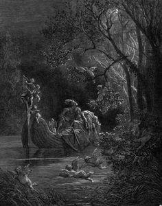 Illustrations to Orlando Furioso / Gustave Doré Gustave Dore, Dom Quixote, Roi Arthur, Art Of Seduction, Scratchboard, Great Paintings, Gothic Art, Renaissance Art, Surreal Art