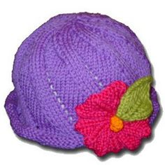 Come on, baby. Get ready to twist and shout with this adorable Twist and Sprout Hat. Just because the weather outside is a bit dreary, doesn't mean you have to settle for a darker-colored hat to match. Instead, learn to knit a hat and get in on this fun knit hat pattern.