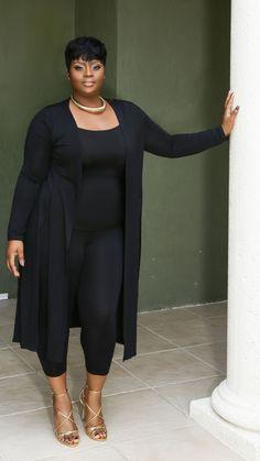 Image of lamar set big girl fashion, black women fashion, curvy fashion, plus Fashion Mode, Curvy Girl Fashion, Black Women Fashion, Womens Fashion, Fashion Fall, Curvy Outfits, Classy Outfits, Girl Outfits, Fashion Outfits