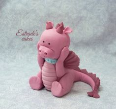 Estrade's cakes: dragón modelado en azúcar
