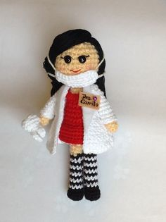 Dentist amigurumi crochet #handmade #cute #diy