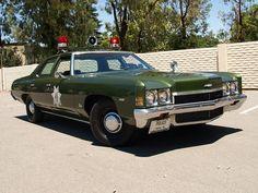 1972 Chevy Bel Air Police Cruiser