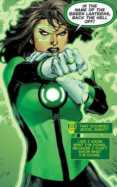 Green Lantern Jessica Cruz in Green Lanterns # 1 - Art by Ethan Van Sciver, Ed Benes, & Jason Wright