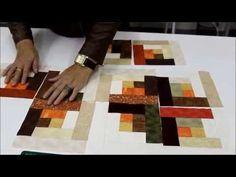Sem Segredos com Ana Cosentino: Aula 18 (Log Cabin) - YouTube