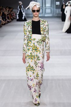 Giambattista Valli Fall 2014 Couture Collection Slideshow on Style.com