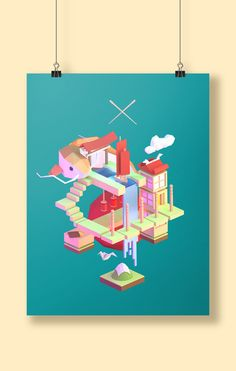 Stereotype print on Behance