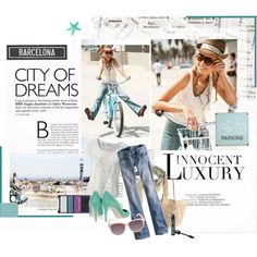 Hey I wan't to go to Barcelona Barcelona City, Dream City, Things I Want, To Go, Pretty, Polyvore, Image, Clothes, Shoes