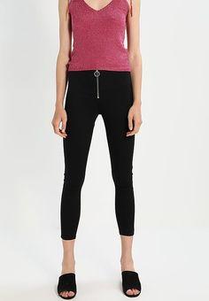 Topshop JONI - Jeans Skinny Fit - black