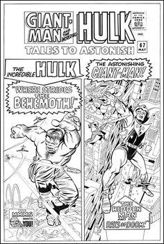 Tales to Astonish #67