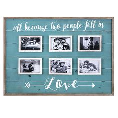 Fell In Love Collage Frame Frame Wall Collage, Quote Collage, Collage Picture Frames, Picture Wall, Frames On Wall, Love Quotes For Wedding, Wedding Picture Frames, Framed Quotes, Collage Making