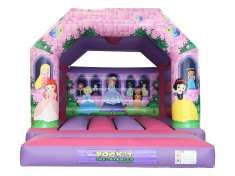 12.5x15.5 Princess Bouncy Castle - Bouncy Castles - Bouncy Castle and Soft Play Hire in Essex,