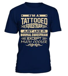 TATTOOED EQUESTRIAN JOB T SHIRTS
