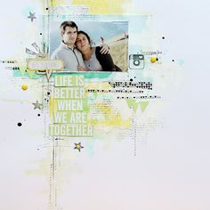 Janna Werner: 5 scrapbooking pages I love - by Audrey