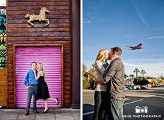 Little Italy Engagement Photo Shoot / follow @TruePhotography