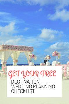 Get Your Free Destination Wedding Planning Checklist