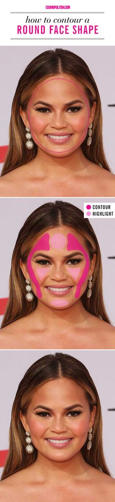 Trendy makeup contour round face tips ideas Palette Contouring, Face Contouring, Contour Makeup, Contouring And Highlighting, Contouring Guide, Contouring Products, Contouring Tutorial, Eye Makeup, Face Shape Contour