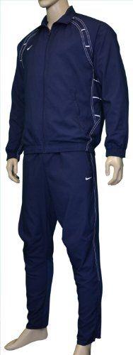 Nike Men's Laser Tracksuit Pants Jacket Warm-Up set Navy Blue