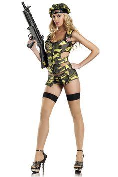 Army Brat Sexy Costume
