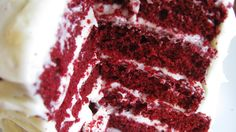 Obsessed with red velvet... 5 layers of heaven.