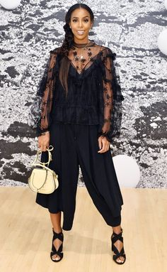 Celebrity Red Carpet Fashion Photos: Last Night's Look - Celebrity Style Week: Celebrity Style Fashion and Latest Trends Look Fashion, Fashion Photo, Fashion Outfits, Fashion Tips, Woman Fashion, Fashion Styles, Celebrity Red Carpet, Celebrity Style, Kelly Rowland Style