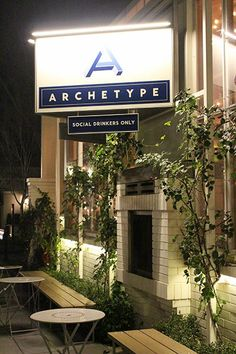 Social drinkers only at Archetype | Dine + Drink in Napa