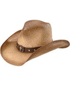 Scala Studded Concho Cross Straw Cowboy Hat Cowgirl Hats 589a4b2e6738
