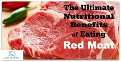 Red Meats: Benefits, Adverse effect & Daily Allowances