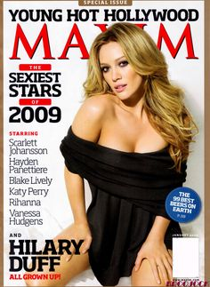 Hilary Duff for Maxim Magazine | www.piclectica.com #piclectica #HilaryDuff #Maxim