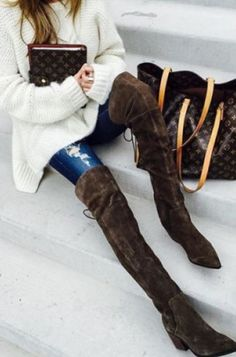 f0e031bd680 26 Best Over-The-Knee Boots images