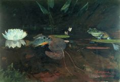 Winslow Homer Mink Pond. 1891, watercolor over graphite on paper, 35 x 51 cm. Harvard Art Museums/Fogg Museum, US