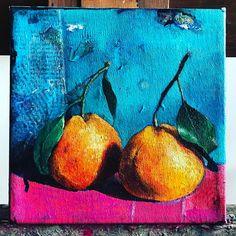 "109 Likes, 4 Comments - Juliette Belmonte (@juliettebelmonte) on Instagram: ""Little mandarins. #stilllife #artistsoninstagram #dailypainter #dailypainting #originalpainting…"""
