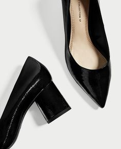 Image 4 of POINTED MEDIUM HEEL SHOES from Zara