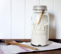 Large vintage Agee Special preserving jar