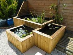 18 meilleures images du tableau bassin cuve 1000l | Garden projects ...