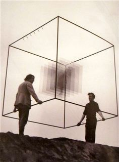 Piotr Kowalski - carrying the cube
