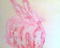 """Some Bunny""    Original Oil Painting by ZsaZsa Bellagio"