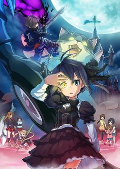 Rikka's imaginary world (Chuunibyo demo Koi ga Shitai)