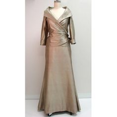 We have gold mother of the bride dresses and other formal attire for your special occasion. Find other #specialoccasiondresses you can customize on our main website.