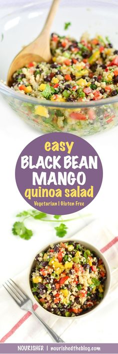 Easy Black Bean Mang