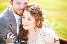 nashville wedding, outdoor, bride, groom, vintage dress, grey suit