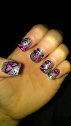 Sexy Nail art! Love this look :)