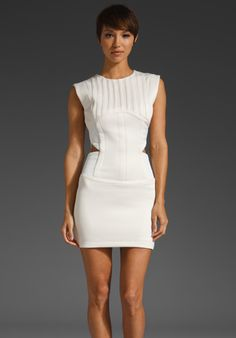 camilla and marc Regulation Dress in Ivory