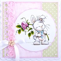 Wee Stamps - Wee Bunnies The Hobby House Die-Cut Card Toppers Easter @ The Hobby House Pretty Cards, Cute Cards, Hobby House, Whimsy Stamps, Animal Cards, Scrapbook Cards, Scrapbooking, Digital Stamps, Handmade Christmas