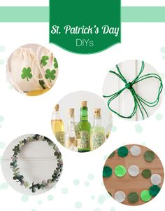 A round-up of great St. Patrick's Day DIYs