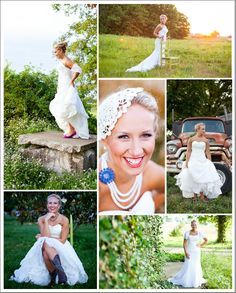 Morgan Marie Photography featured on I Love Farm Weddings - vintage rustic bridal session
