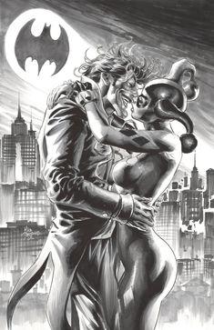 """mikedeodatojr: """"Joker & Harley """""""