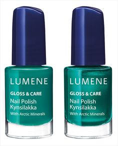Lumene Gloss & Care Nail Polish with Arctic Minerals