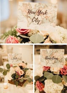 Love is a journey. A travel themed wedding is a fabulous way to let your journey begin! We've got so many fun, unique and downright adorable travel themed wedding ideas to inspire you for your travel wedding! Head to the link for more! Wedding Blog, Our Wedding, The Wedding Planner, Wedding Tips, Fall Wedding, Trendy Wedding, Elegant Wedding, Table Names For Wedding, Budget Wedding
