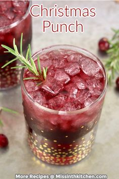 Christmas Punch is a great cocktail for holiday parties and celebrations. Made with merlot wine for a simple and delicious holiday sangria. Holiday Sangria, Holiday Punch, Christmas Punch, Christmas Goodies, Simple Christmas, Christmas Ideas, Cocktails For Parties, Holiday Parties, Easy Cocktails